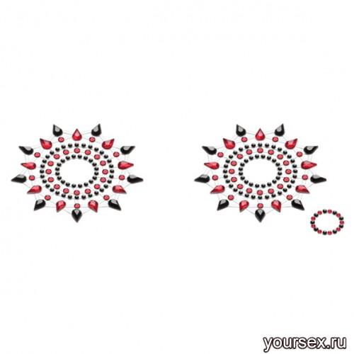 ������� PETITS JOUJOUX - GLORIA BLACK & RED ������/�������