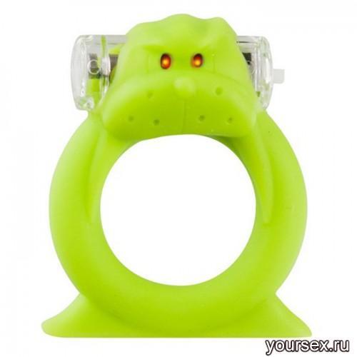 Вибронасадка Beasty Toys Wicked Walrus, зеленая