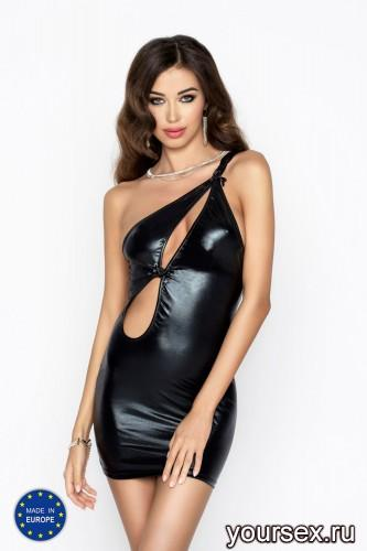 Черное мини-платье Cornelia L/XL