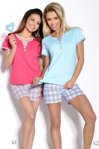 Голубая футболка и шорты Nika XL