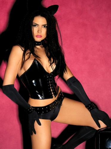 Комплект Obsessive Pussycat, размер L\XL, цвет черный