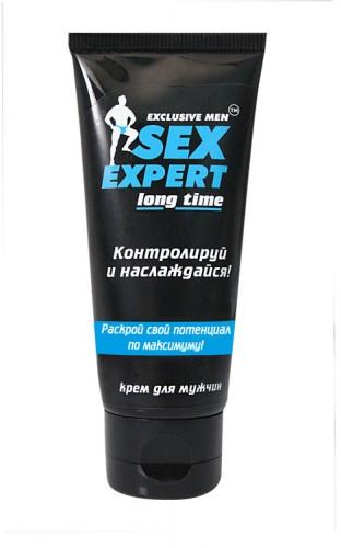 Крем пролонгатор ''LONG TIME'' серии ''Sex Expert'' для мужчин 40г