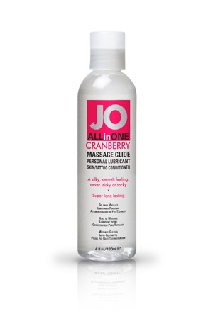 ��������� ����-����� ALL-IN-ONE Massage Oil Cranberry ���������� 120 ��