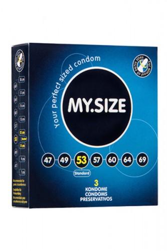 Презервативы MY.SIZE №3 размер 53