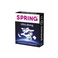 Презервативы Spring Ultra Strong №3 Ультра прочные