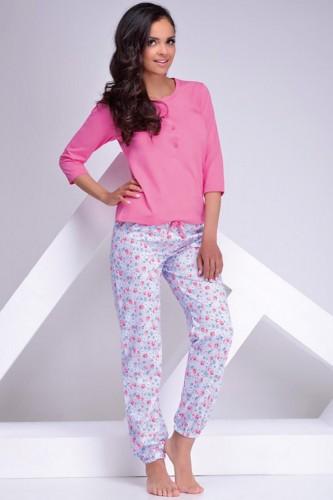 Розовая футболка и штаны Teresa L