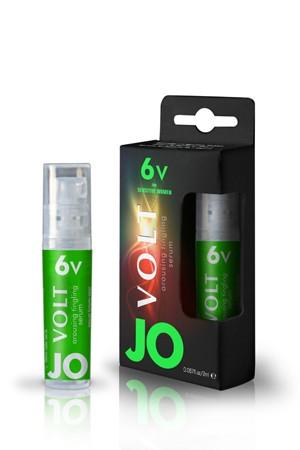 Возбуждающая сыворотка мощного действия JO Volt 6 VOLT Spray, 2мл