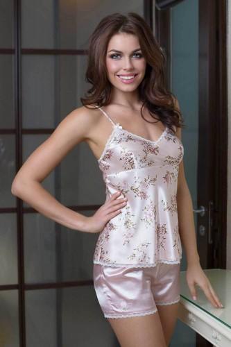 Пижама Mia-Mia Luisa, розовая S