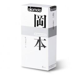 Презервативы Okamoto Purity 10 шт, классические телесного цвета