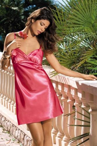 Сорочка Mia-Mia Crystal, розовая L