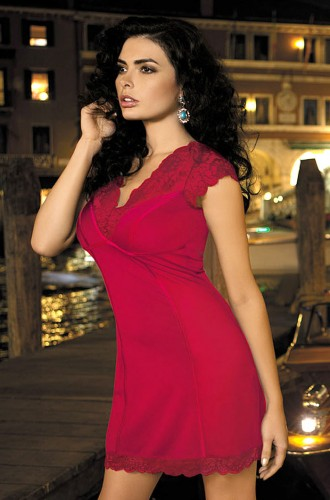 Сорочка Mia-Mia Lady in red, красная XL