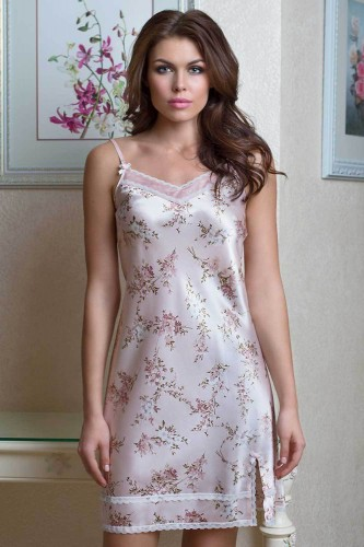 Сорочка Mia-Mia Luisa, розовая XL