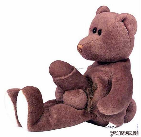 Мягкая игрушка-медвежонок