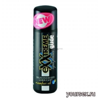 Лубрикант Hot Exxtreme Glide Slicone 100 Ml