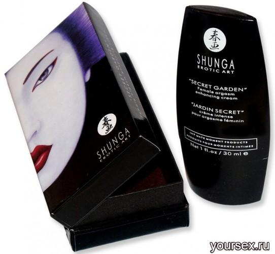 Крем для Женщин Shunga Secret Garden enhancing Cream,30 мл