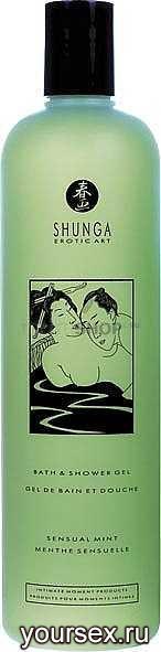 ���� ��� ���� Shunga Bath&Shower Gel Mint