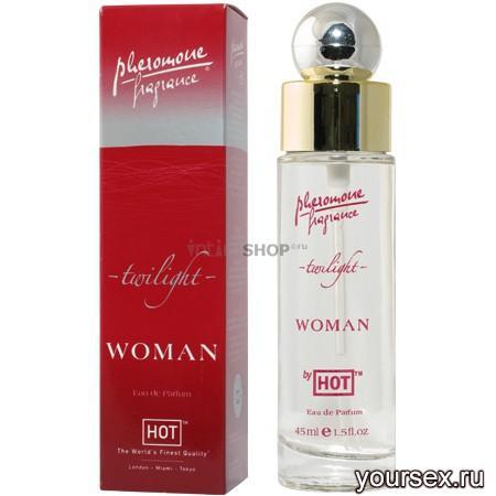 Женские Духи Hot Woman Pheromonparfum Twilight 45 ml