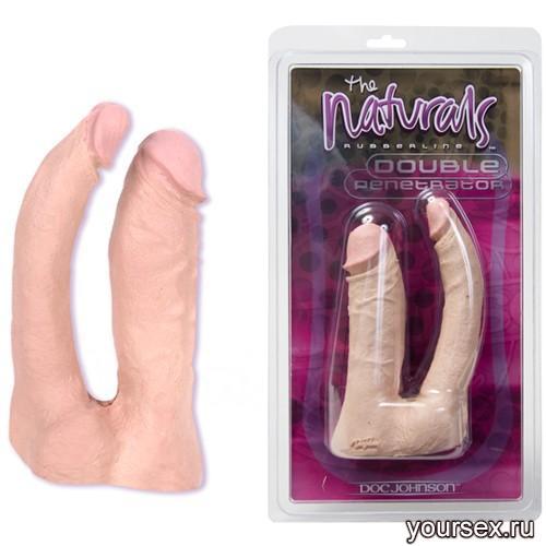 Двойной Фаллоимитатор  The Naturals Double Penetrator