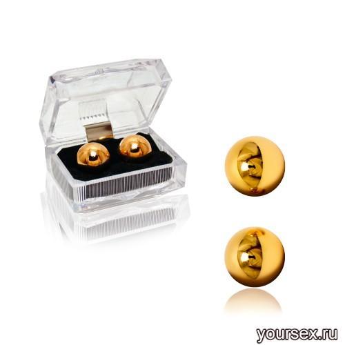 Шарики Вагинальные Ben Wa Gold Balls