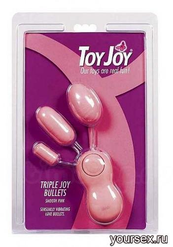 Набор Виброяиц Triple Joy Bullets