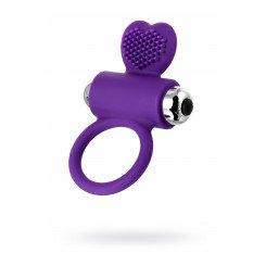 Виброкольцо с ресничками Jos Pery, фиолетовое, 9 см