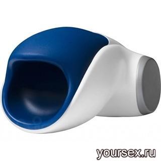 Мастурбатор для Мужчин Fun Factory Cobra Libre, цвет сине-белый