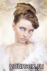 Ресницы-перья White Dance