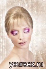 Ресницы Glitter Pink Crystals