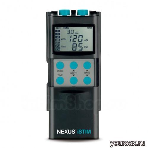 Двухканальный электростимулятор с электродом Nexus - iStim