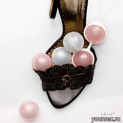 Вагинальные Шарики Luna Beads на сцепке LELO