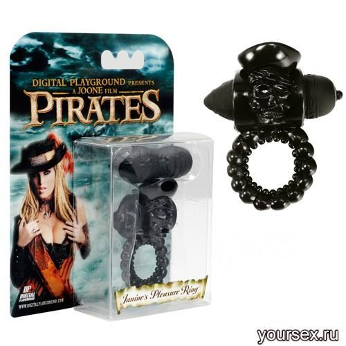 Пиратское Черное Колечко Janine's Black Pleasure