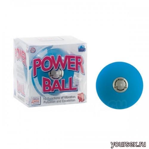 Вибрирующий Шарик Vibrating Power Ball Blue (Голубой)
