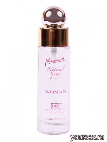 Духи с Феромонами (Без Запаха) Hot Woman Pheromon Natural Spray 45мл