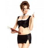 Костюм Секретарши SoftLine Gigi, размер M/L, цвет черный