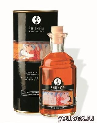 Масло для Массажа с Афродизиаками (Апельсин) Shunga Aphr.Oil Orange,100 мл