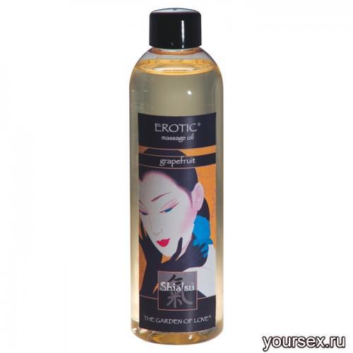 Массажное масло SHIATSU MASSAGEOIL EROTIC 250 ML Грейпфрут