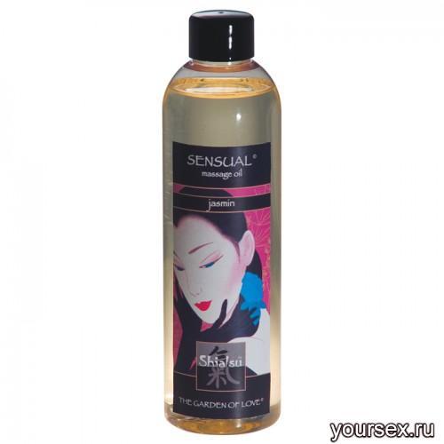 Массажное масло SHIATSU MASSAGEOIL SENSUAL 250 ML Жасмин