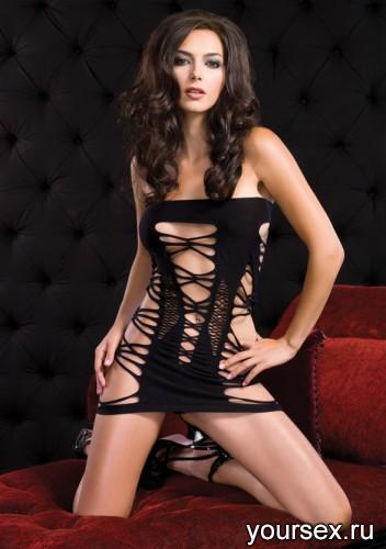 Мини-Платье Seamless Strappy