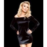 Платье SoftLine Tyler, размер M, цвет черный