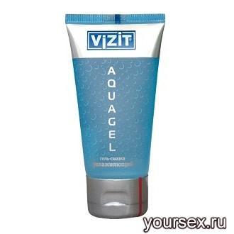 Гель-смазка Vizit aquagel увлажняющая 60 мл