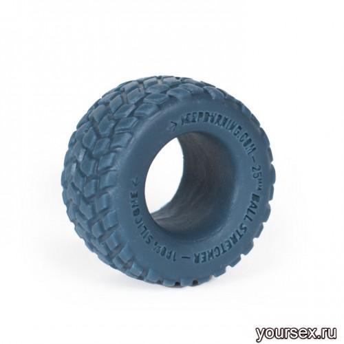Keep Burning Кольцо из силикона CK01BP, цвет темно-синий