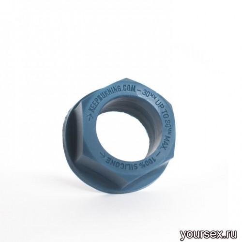 Keep Burning Кольцо из силикона CK04BP, цвет темно-синий