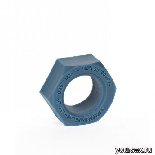 Keep Burning Кольцо из силикона CK06BP, цвет темно-синий