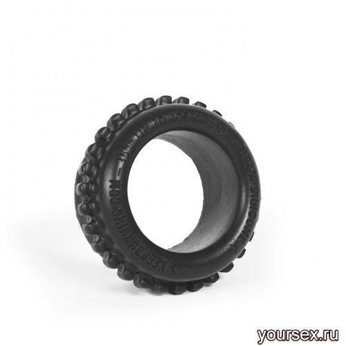 Keep Burning Кольцо из силикона CK09B, цвет черный