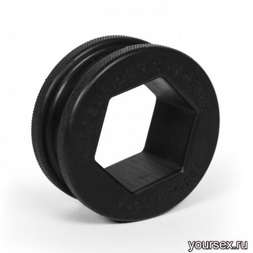 Keep Burning Кольцо из силикона CK15B, цвет черный
