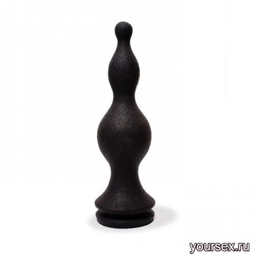 Keep Burning Стимулятор из силикона КВ04,цвет черный