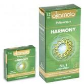 Презервативы ребристые Okamoto Harmony №12