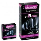 Презервативы супер толстые Okamoto Strong №10