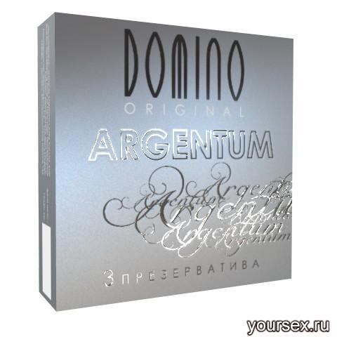 Презервативы Domino Original Argentum