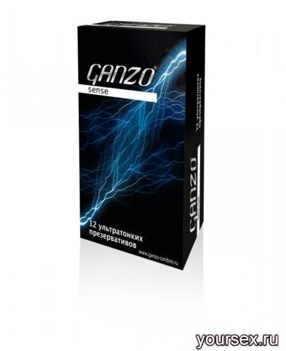 Презервативы Ganzo Sense №12 ультратонкие